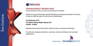 Paykind Launch