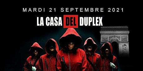 ★ Casa De Papel Party ★ Mardi 21 septembre X Le D billets