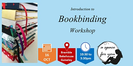 Introduction to Bookbinding - Hardback Journals tickets