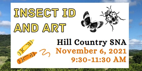 Insect ID and Art tickets