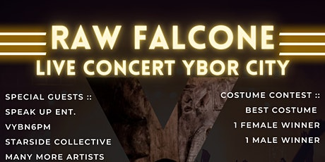 Raw Falcone at The Orpheum (Speak Up Entertainment) tickets