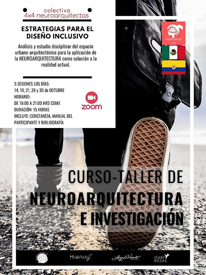 Imagen de Curso Taller NEUROARQUITECTURA E INVESTIGACIÓN