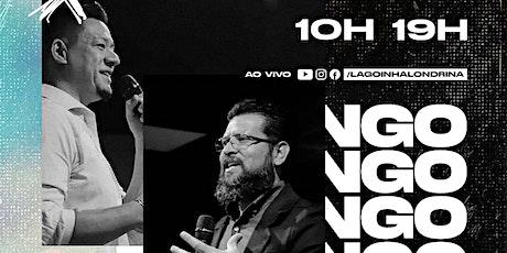 CULTO DOMINGO | 19 HORAS ingressos