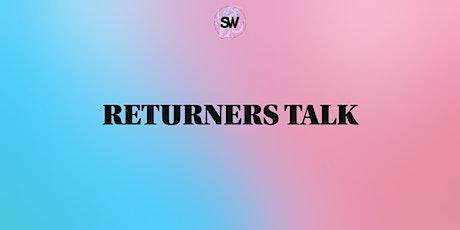 Student Workshop Returners Talk tickets