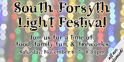 South Forsyth Light Festival