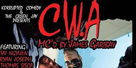 C. W. A: Comics With Attitude tickets
