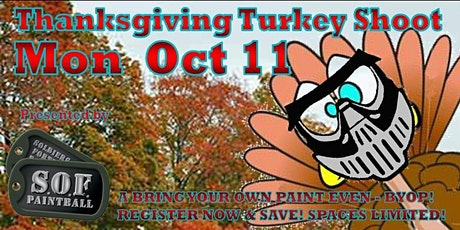 Thanksgiving Turkey Shoot BYOP tickets