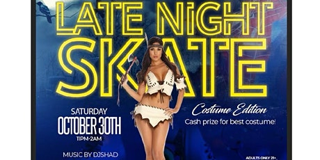 Late Night Skate- Costume Edition tickets
