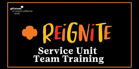 Service Unit Team Training tickets