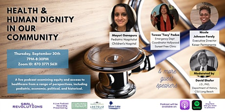 Small Revolutions: Health & Human Dignity in our Community tickets