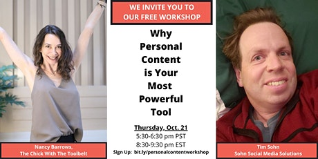 Why Personal Content is Your Most Powerful Tool tickets