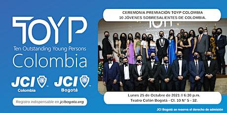 Ceremonia  Premiación 10 Jóvenes Sobresalientes de Colombia - TOYP Colombia tickets