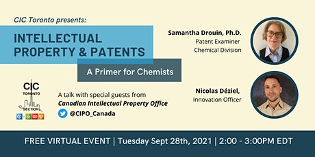 Intellectual Property & Patents: A Primer for Chemists Tickets