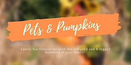 Pets & Pumpkins Fall Festival - Vendor Registration tickets