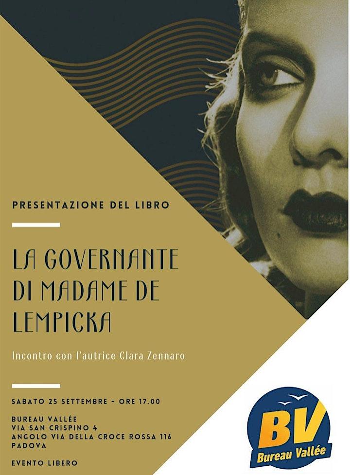 Immagine Presentazione del romanzo La governante di madame de Lempicka