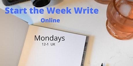 Journalling - Start the Week Write Tickets