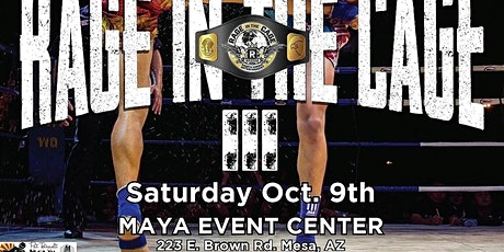 Rage in the Cage Muay Thai 3 tickets