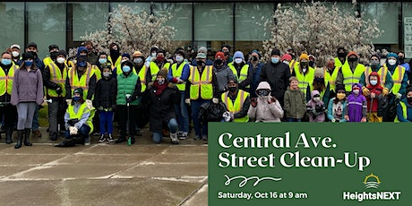 FALL CENTRAL AVENUE CLEANUP tickets