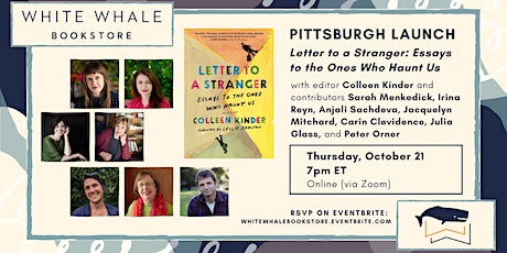 """Pittsburgh Launch for """"Letter to a Stranger""""! Featuring Local Writers tickets"""