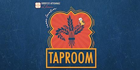 Inaugurazione Tap Room Birrificio Artigianale Lilium biglietti