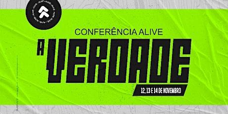 """Conferência Alive 2021 """"A Verdade"""" ingressos"""