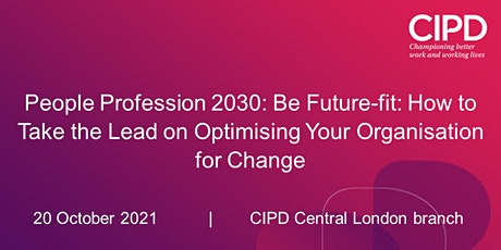 People Profession 2030: Be Future-fit tickets
