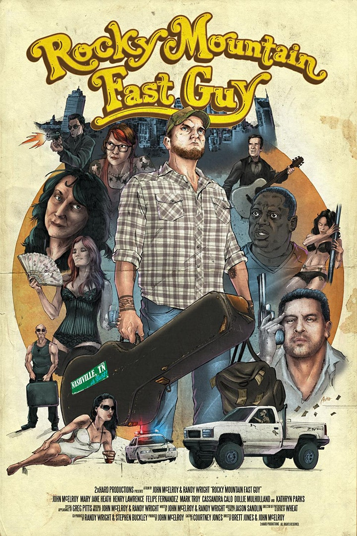 """""""Rocky Mountain Fast Guy"""" Feature Film Event - New Florida Cinema image"""
