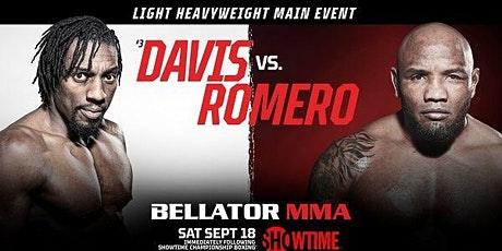 StREAMS@>! (LIVE)-Bellator 266 Davis v Romero LIVE ON MMA 18 Sep 2021 tickets