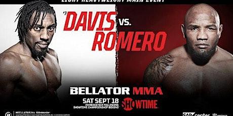 StREAMS@>! r.E.d.d.i.t-Bellator 266 Davis v Romero LIVE ON MMA 18 Sep 2021 tickets