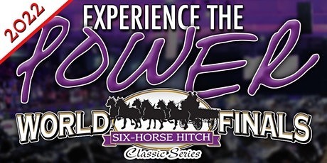 *2022* Six Horse Hitch Classic - Celebration of Champions Dinner Ticket tickets