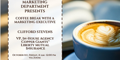 Coffee Break with a Marketing Executive Series: Clifford Stevens tickets