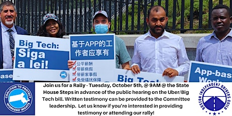 Rally Against Uber & Big Tech tickets