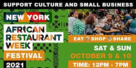 New York African Restaurant Week  Festival 2021 entradas