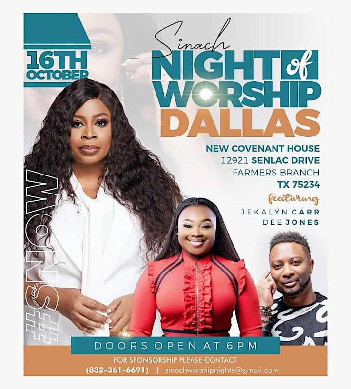 SINACH- Night of Worship USA (DALLAS TX) image