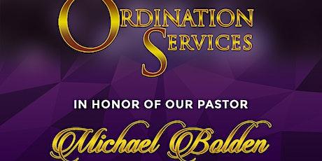 Pastor Ordination tickets