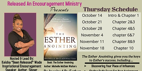 Released Encouragement Ministry Book Club (The Esther Anointing) tickets