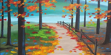 """Sip and Paint - """"Autumn Path""""  Lafayette Hotel tickets"""