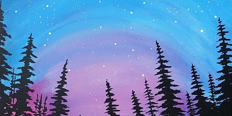 """Sip and Paint - """"Northern Lights""""  Lafayette Hotel tickets"""