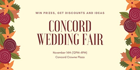Concord Wedding Fair tickets