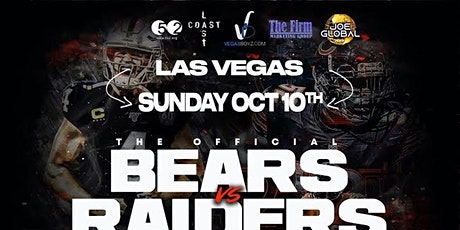 The Official Bears vs. Raiders House Music AfterParty tickets