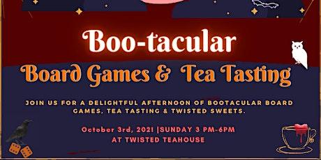 Bootackular Tabletop Games &  Tea Tasting tickets
