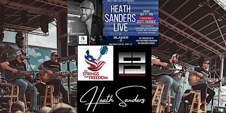 Heath Sanders - Small Town Loud Tour (with Scott Patrick) tickets