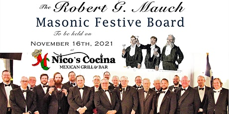 Robert G. Mauch Masonic Festive Board tickets