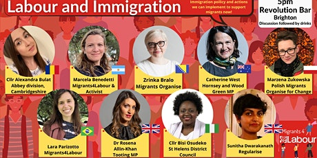 Let's talk about it! Labour and Immigration. M4L Reception tickets