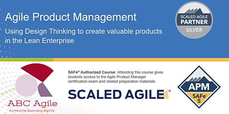 SAFe Agile Product Management 5.0 Online tickets