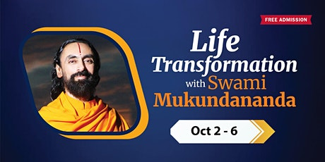 Life Transformation with Swami Mukundananda Realize your infinite potential tickets
