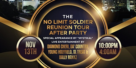 No Limit Soldier Reunion Tour After Party tickets