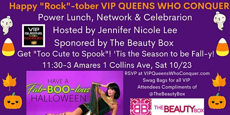 VIP Queens Who Conquer Spooktacular Networking Event!by Jennifer Nicole Lee tickets