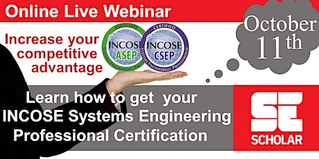 Understanding the INCOSE Certification Process tickets