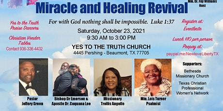 Miracle and Healing Revival tickets
